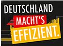 Logo Deutschland machte effizient